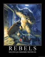 Rebels Poster by Mexicano27