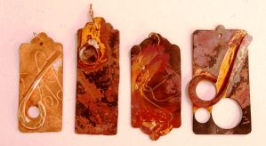 Copper tags by Beryg