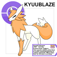 Kyuublaze old by Cerulebell