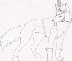 Marching Band Wolf by thelunastar14