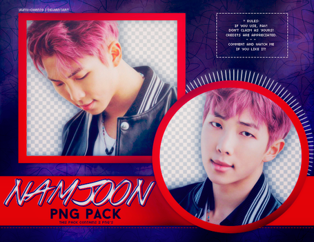 PNG PACK: Rap Monster (BTS) by Yumi-chan19