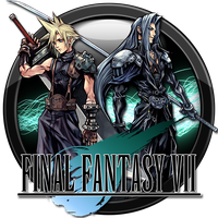 Final Fantasy VII Icon by andonovmarko