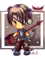 Rock Star - Benji by kawaii-shugotenshi
