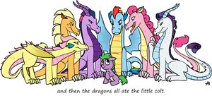 My Little Dragons by Bananers97