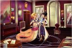 Commission - Kaizen and Arche by Genso-x