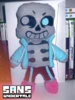 I made a SANS plushie... by Nightfable