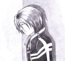 Sorrow (fianl version pencil) by Hitomi-Jchan