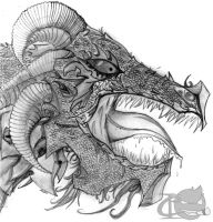 Dragon 2 by CrypticInk