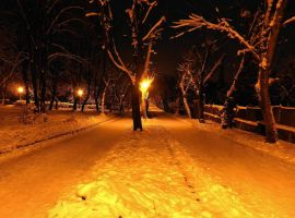 Winter night by ale2xan2dra