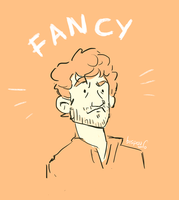 Fancy Hugh Dancy by bispau