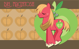 Big Macintosh WP by AliceHumanSacrifice0