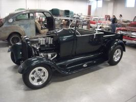 Ford Model A roadster pickup by vash68