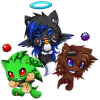Prize:Chao team for NightAngelTDC by Extra-Fenix