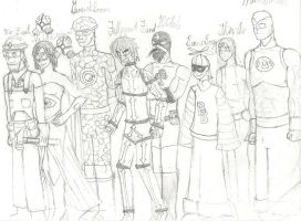 Concept: Heroes Unlimited 1 by AC-Drawings