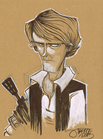 $25 Han Solo by JeremyTreece