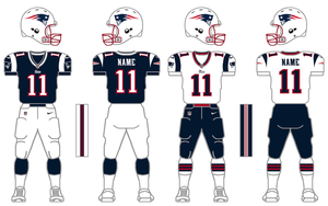 Nike Elite 51 Patriots Uniform Tweak by SimplyMoono