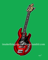 March Hare Bass by ArtbyMaryC