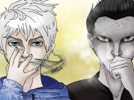 RotG:    Becoming darker...colder... by hyokka