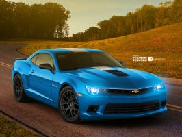 2014 Chevrolet Camaro SS Simple Racing by YogaBudiwCUSTOM