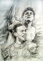 Ronaldinho VS Frank Lampard by aaronwty