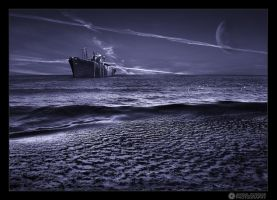 - ghost ship - by adypetrisor