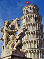 Leaning Tower of Pisa, Italy by KrisWilliams
