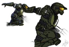 Fan Art Halo Legends by SkyCrawlers
