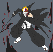 Hollow Ichigo by Metal-Kitty