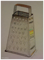 Finished Cheese Grater by cutielou