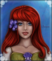 Ariel Inspired Commission for Unequal by Stepherbell