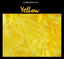 Long faux fur- solid yellow by LisaToms