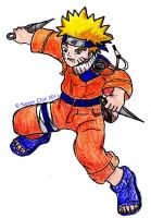 Naruto in a Fighting Stance by Rocket-Stevo