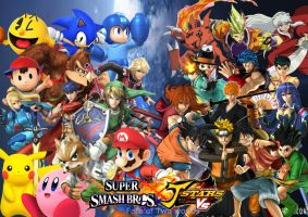 Super Smash Bros X J Stars Fate of Two Worlds by SuperSaiyanCrash