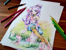 Order of the Lotus Irelia by Lighane