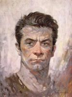 Frank Frazetta by Trabbold