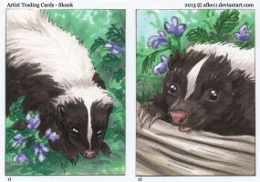 Skunks by afke11