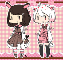 [AUCTION] Valentines Set - CLOSED by Youchube