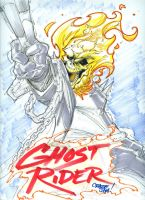 Ghost Rider Marker Sketch by nctorres