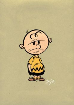 You Blockhead, Charlie Brown by Themrock