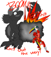 BOOM bitch by TheMiles