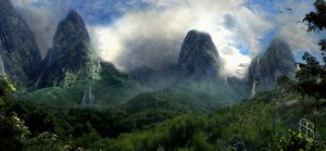 Eden Panorama by aaronsimscompany