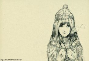 Winter Girl by bmad95