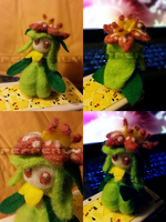 [FA:Pokemon] Felted Lilligant by Pepperly