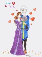 T and R Valentine's Day by AnneMarie1986