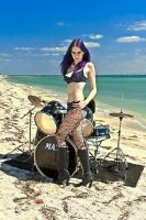 Drummer For Hire 6 by MordsithCara