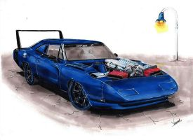 Dodge Charger Daytona RT by vsdesign69