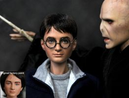 Harry Potter movie - doll art by noeling