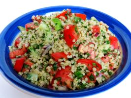 Bulgur Salad by Kitteh-Pawz