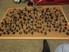 Small Tyranid Army~ Long term project. by Leimary