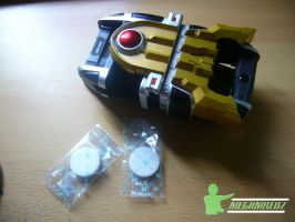 Kamen Rider IXA Knuckle-Belt by MeGaMRedZ